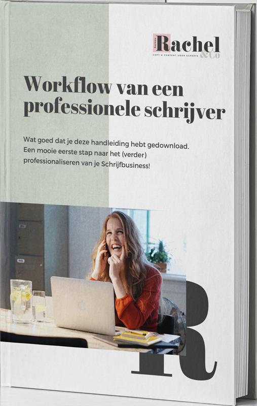 Workflow voor de professionele schrijver